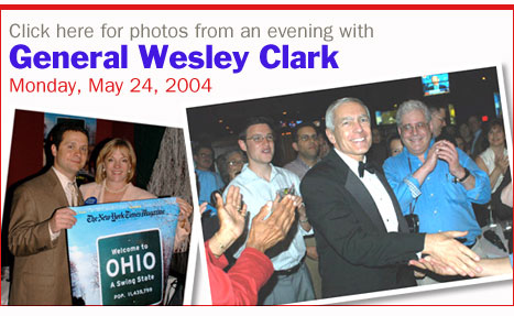 Photos from an Evening with Wesley Clark